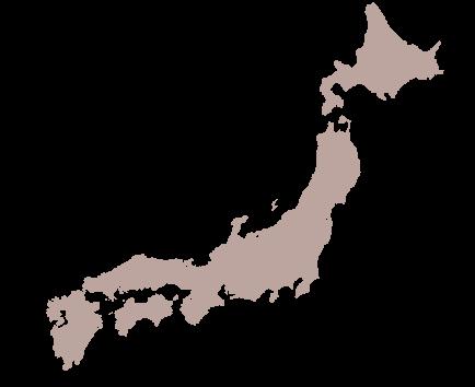日本地図 本土